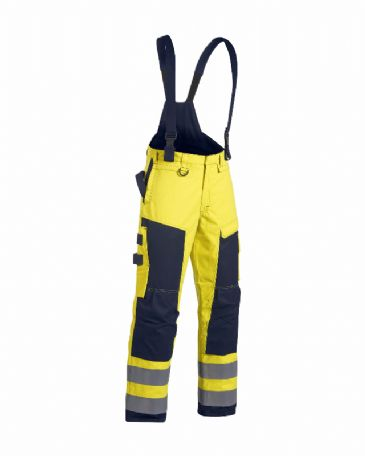 Blaklader 1868 Multinorm Winter Trousers (Yellow/Navy Blue)